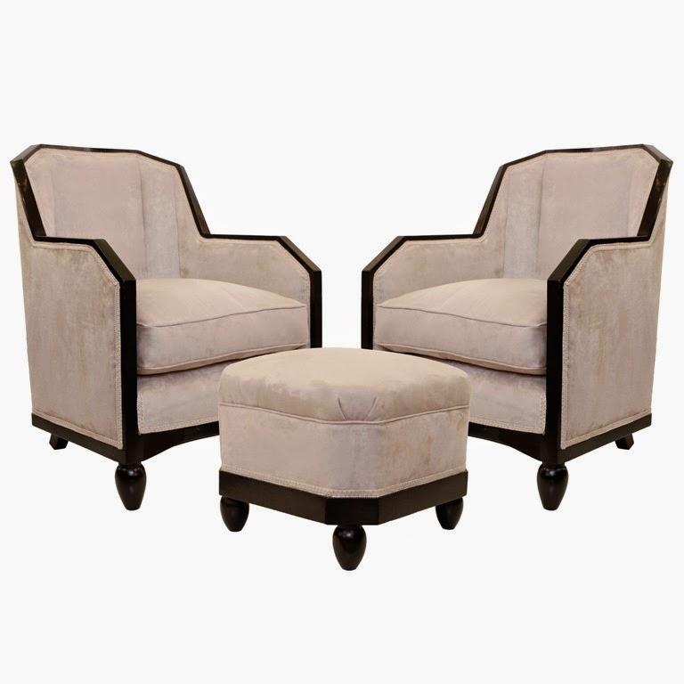 Dise o interior art d co - Art deco muebles ...