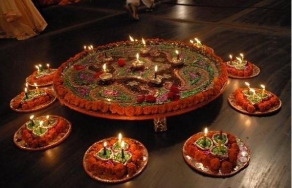 Mehndi Fruit Decoration : Shannu s celebrators