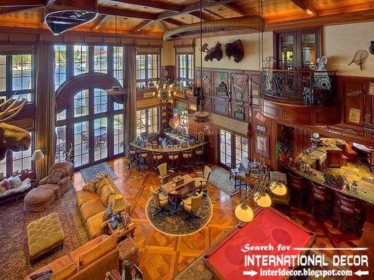 Mediterranean Palace in Florida, American interior palace Colonial style