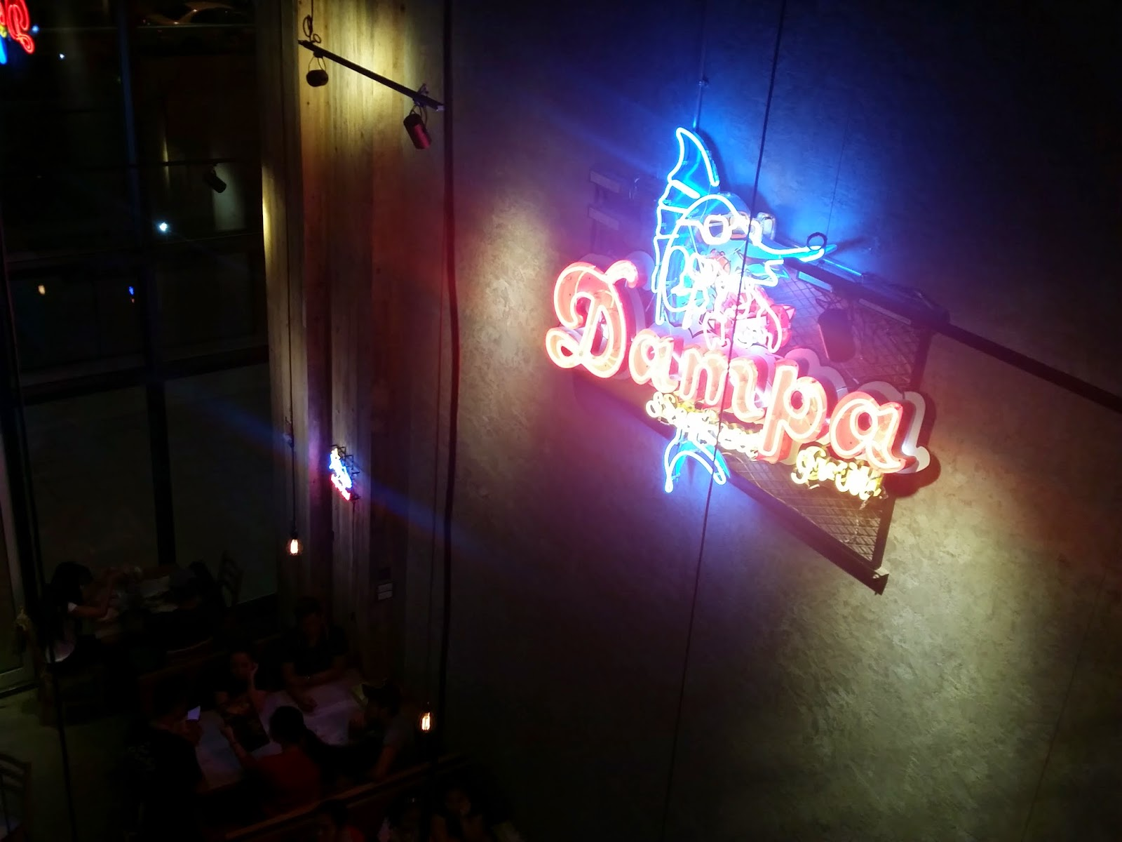 Dampa Seafood Grill The Newest Fancy Restaurant Many