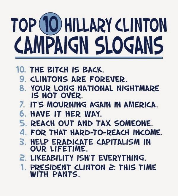 Hillary Clinton Campaign Slogan Top 10 hillary clinton 2016 campaign ...