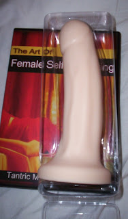 Tantus O2 Mark Dildo - inner shaped plastic case shown open (dvd not included!)