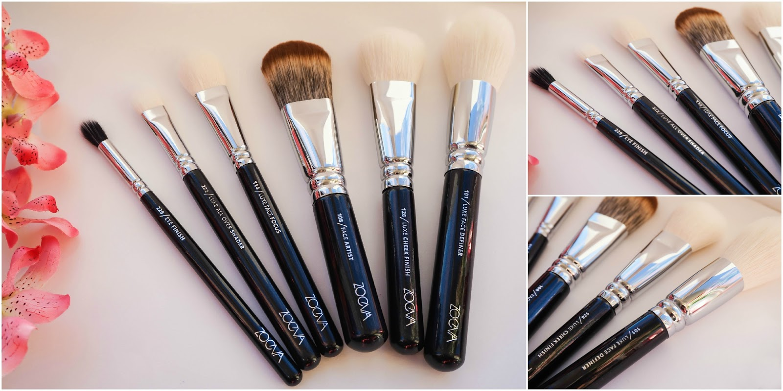 Zoeva, Brushes, Luxe Collection