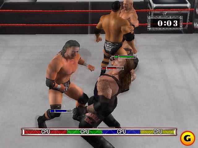 اكثر العاب المصارعة اثارة WWE Raw Ultimate Impact 2009 كاملة حصريا تحميل مباشر WWE+Raw+Ultimate+Impact+2009+1