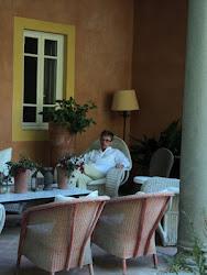 Lance Hattatt, Loggia, Villa Massei