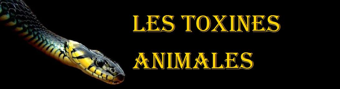 Les toxines animales