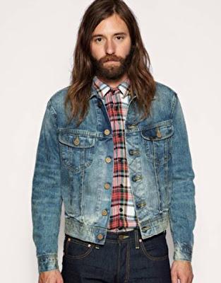 Inilah! Beberapa Tips Memakai Jaket Jeans/Levis