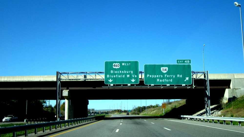 U.S. Route 460 in Virginia
