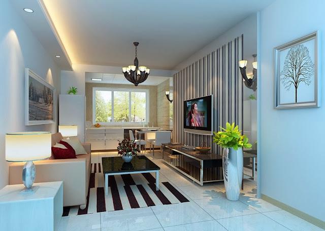 Lighting living room. living room, den trang tri, đèn trang trí,