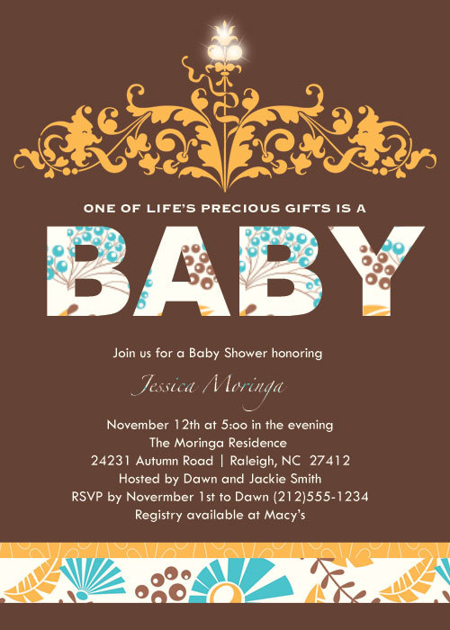 Autumn Baby Shower Invitations is one of our best ideas you might choose for invitation design