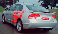 foto cola honda civic si