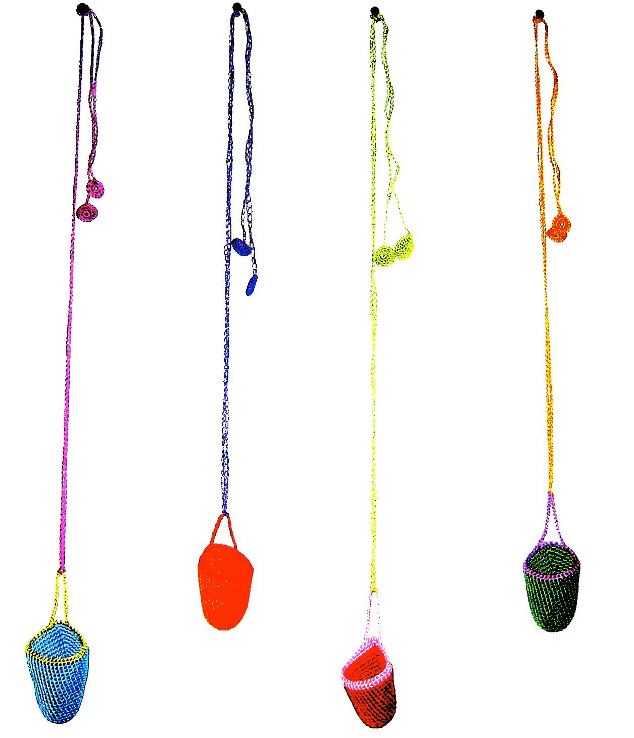 gemma pampalona joies de ganxet joyas de ganchillo crochet jewelry ... Jewelry