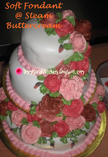 SOFT FONDANT @ STEAM BUTTERCREAM