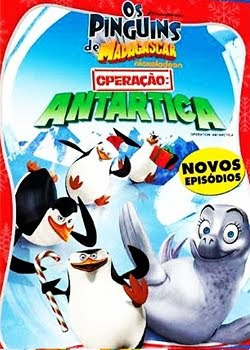 Filme Poster Os Pinguins de Madagascar: Operao Antartica DVDRip XviD Dual Audio &amp; RMVB Dublado