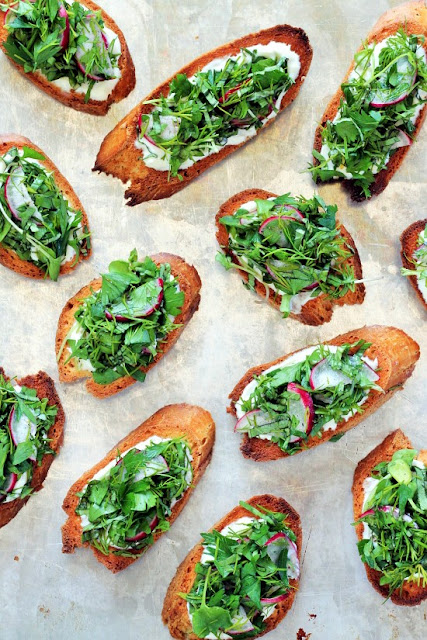 Herbed Bruschetta