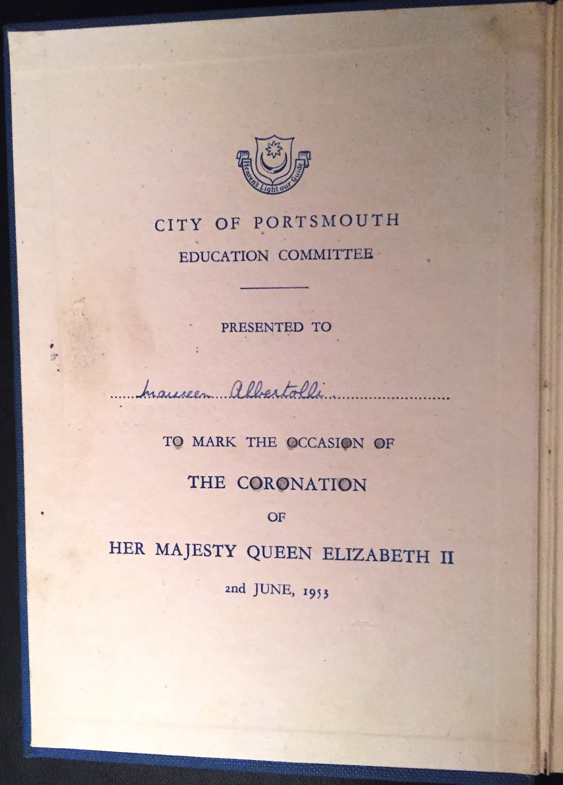 Two Coronation memories from Maureen
