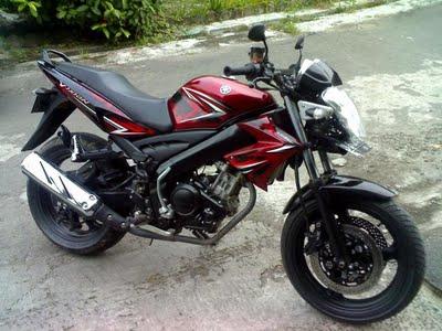 Modifikasi Motor Yamaha Scorpio 2008