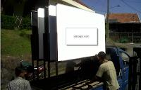 Jual Papan Tulis Whiteboard di Cibinong
