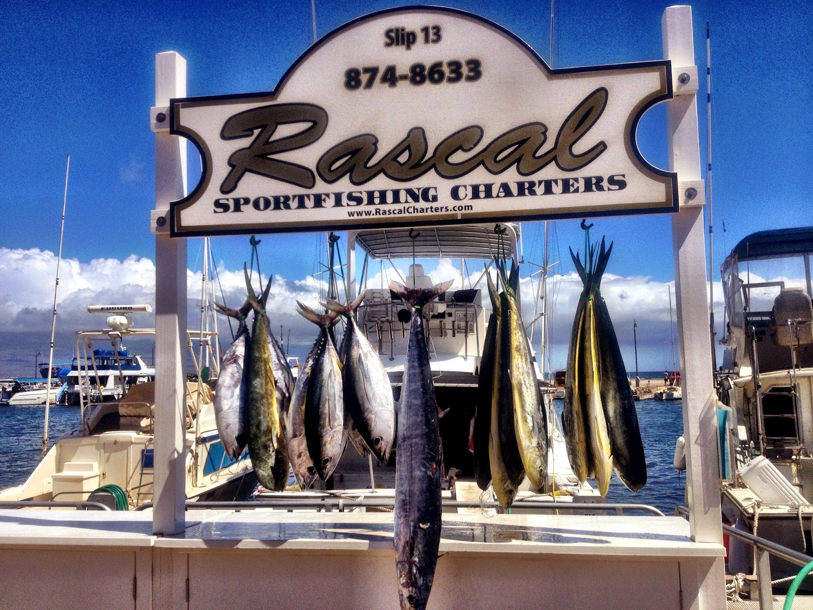 Tickets and reservations for Maui sport fishing charters