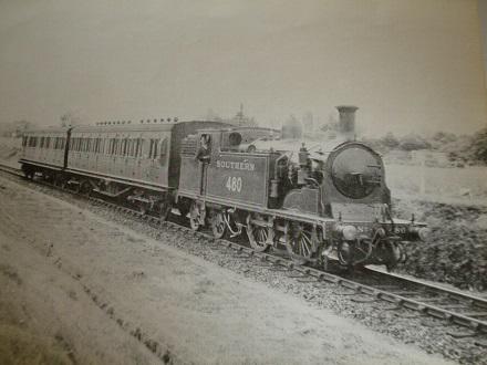 On route to Gosport 1935