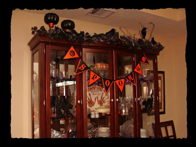 Dollar Store, Pumpkins, Ravens, Bunting