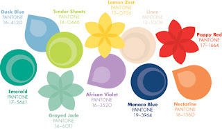 Pantone Colour Chart, Spring 2013