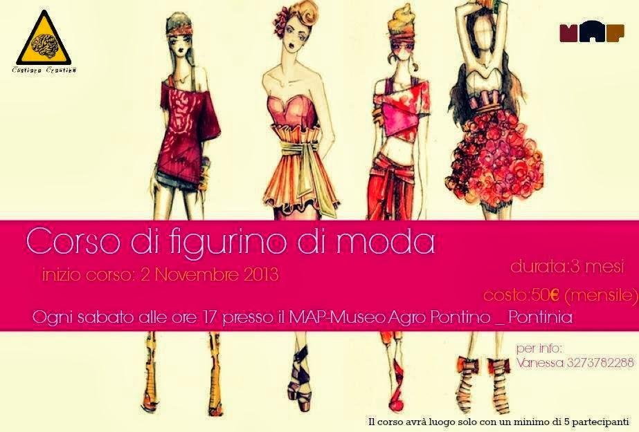Dal 2 Novembre: Corso Figurino di Moda