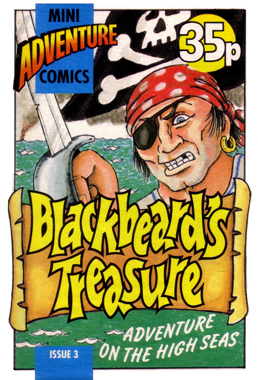 Mini Adventure Comics #3<br>Blackbeard's Treasure