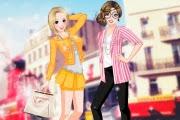 2 Kız 2 Kişi Giydirme