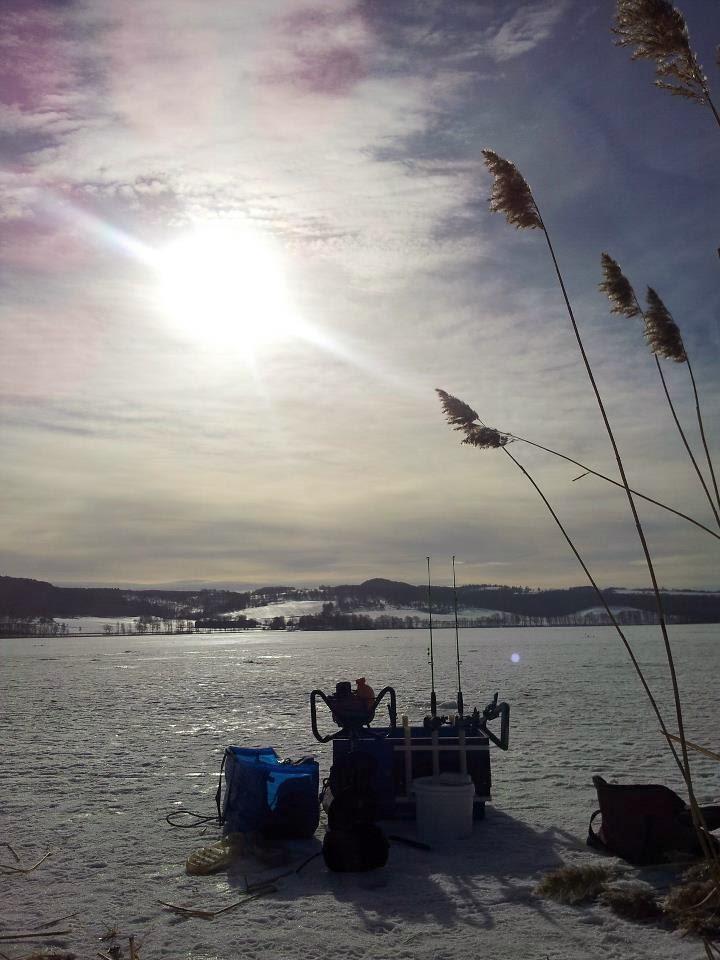 Vacker morgon på Landsjön!