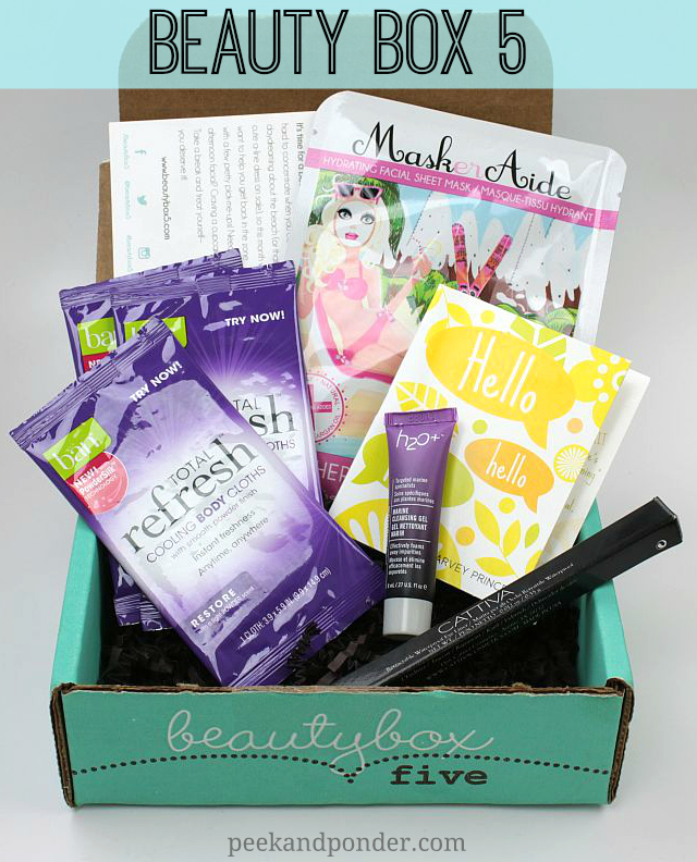 Beauty Box 5 - May 2014
