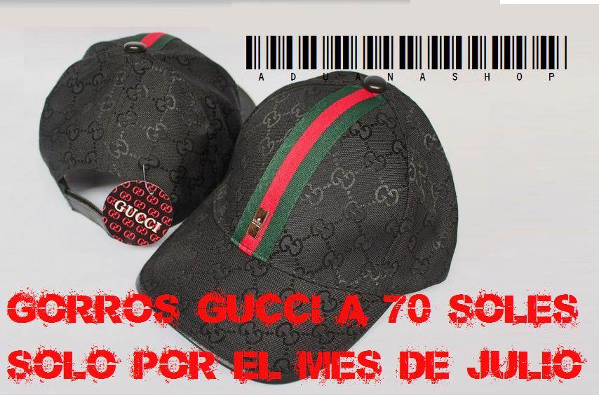7356f7ed4746d Gorras Gucci Mercadolibre Peru