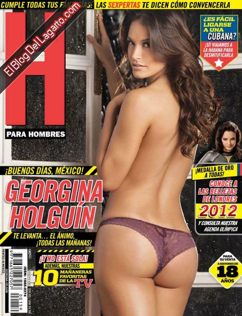 Georgina Olguin H Para Hombres Agosto 2012
