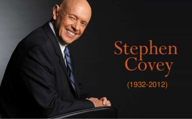 Stephen R Covey Tokoh Motivator Terpopuler Dunia