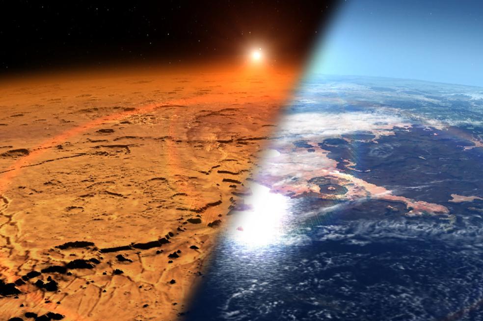 Marte era como La Tierra