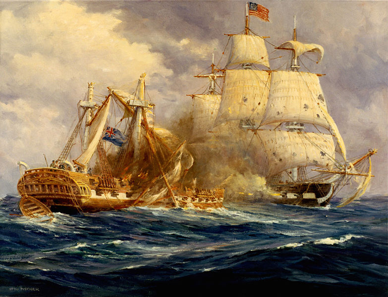 Navy Reads War of 1812 USS Constitution and Freedom