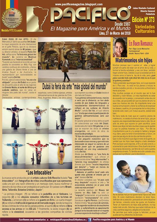 Revista Pacifico Nº 373 Variedades Culturales