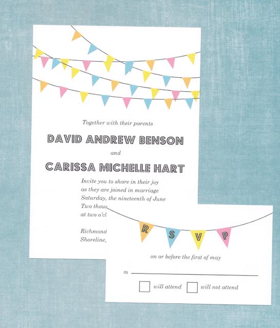 budget wedding, free invitaitons