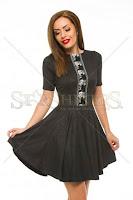 Rochie Artista Velvet Feeling Black (Artista)