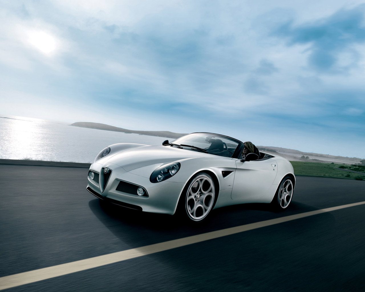 international fast cars alfa romeo 8c wallpapers