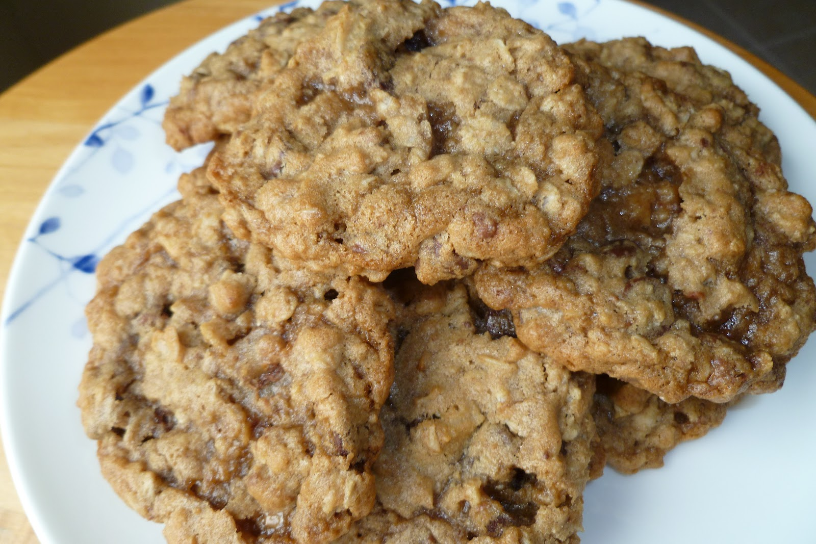The Pastry Chef's Baking: Oatmeal Chocolate Chip Toffee Cookies