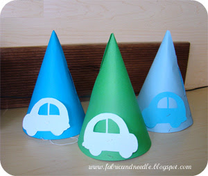 handmade party hats