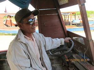 Boat driver.