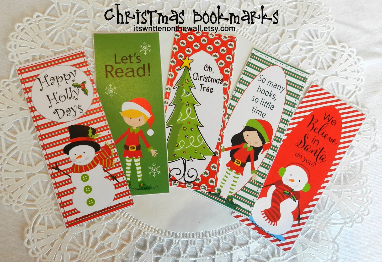 Christmas Bookmarks