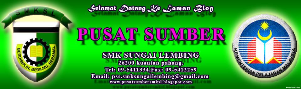 Laman Rasmi Pusat Sumber SMKSL