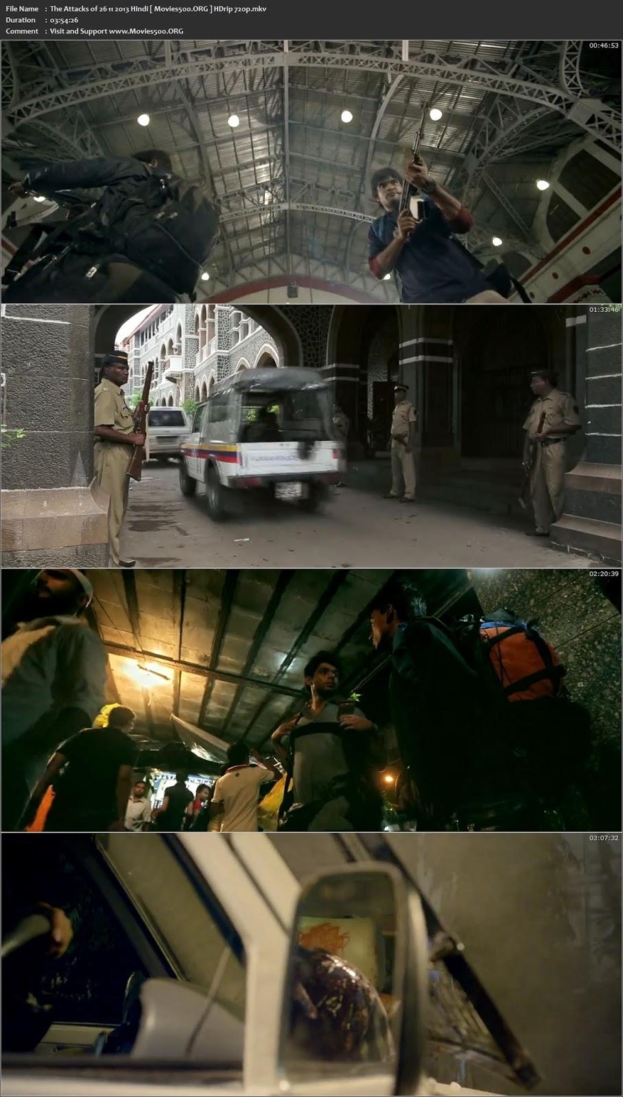 The Attacks of 26 11 2013 Hindi Download HDRip 720p at xcharge.net