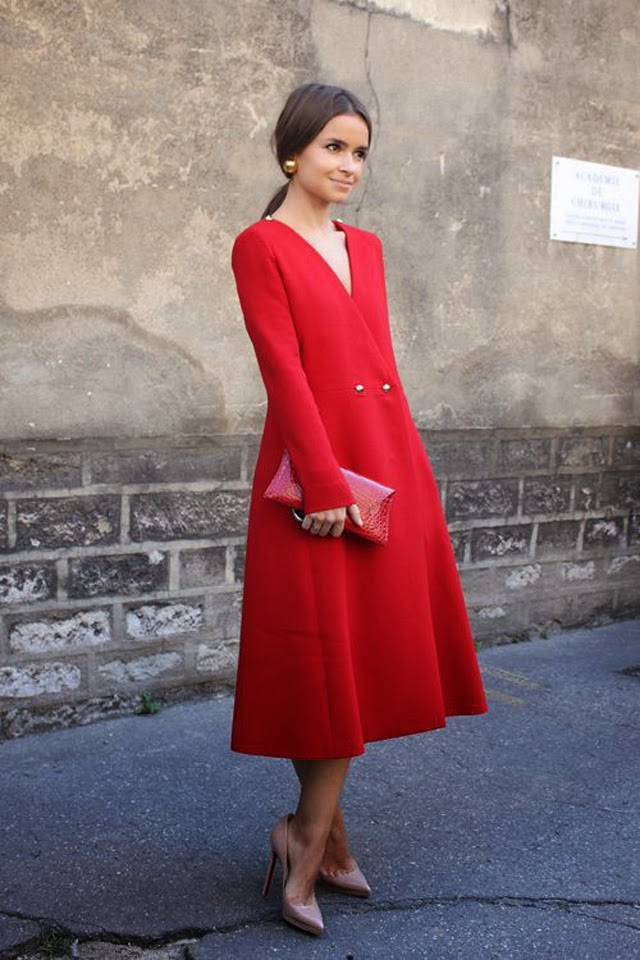 How to wear total red como llevar un total rojo