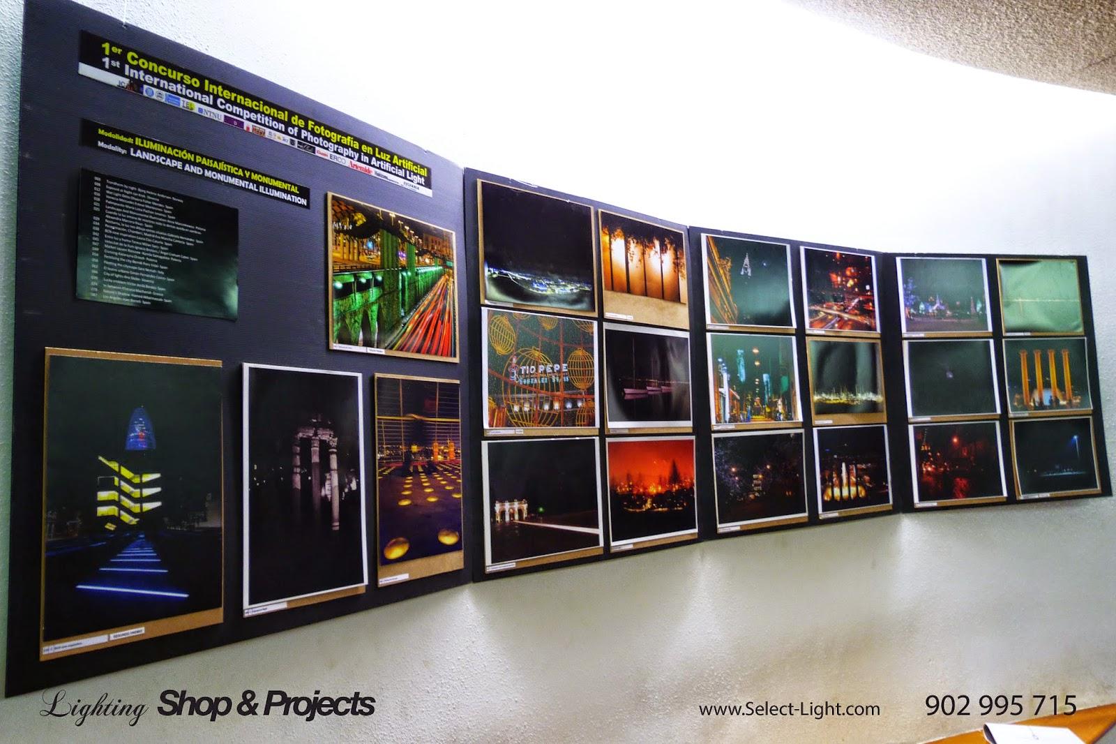 1er concurso internacional de fotografia en luz artificial