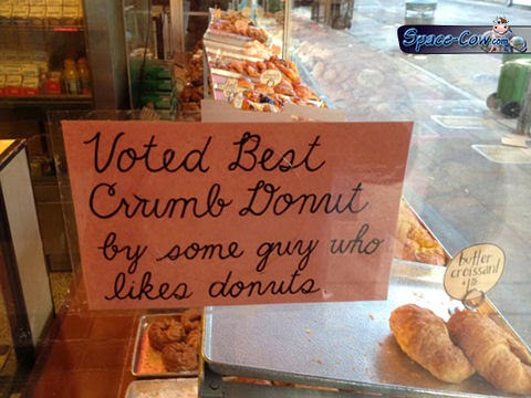 funny messages donuts humor