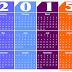 Free 2015 Calendar Template